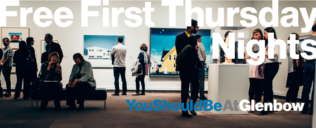 Photo of the free first Thursday nights event at the Glenbow Museum