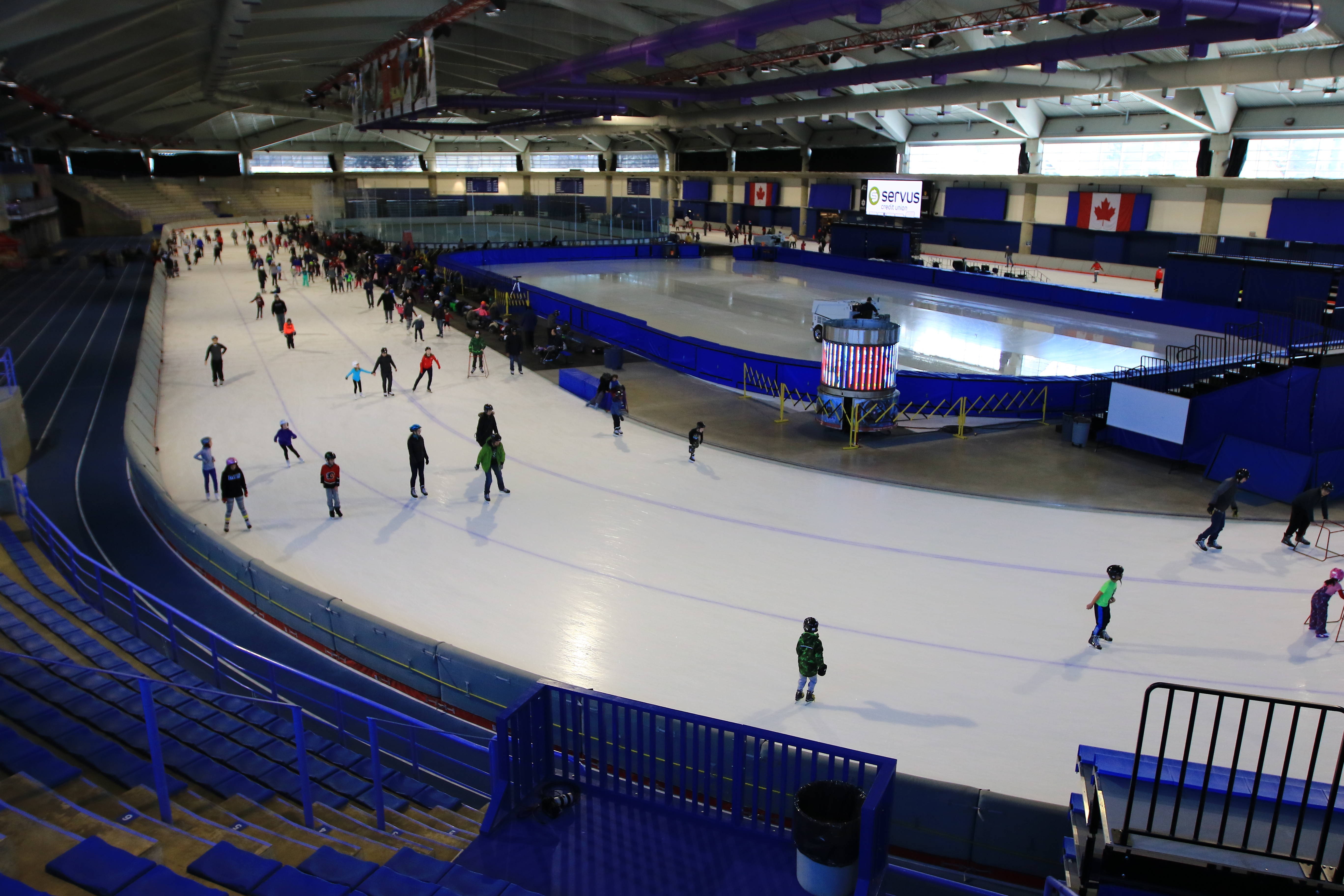 Photo of the Olympic Oval at the University of Calgary